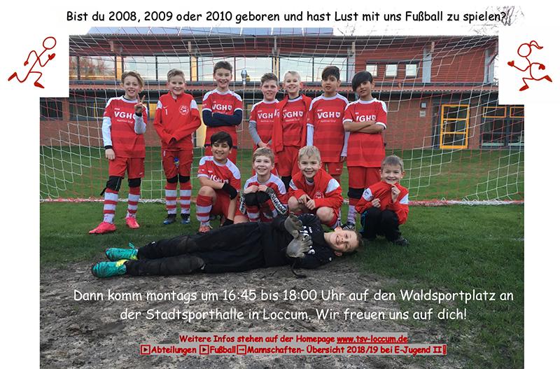 Fussball E Jugend Sucht Neue Spieler